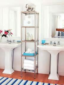 Glass Bathroom Shelf Brushed Nickel Towels Storage 24 Ideas To Spruce Up Your Bathroom