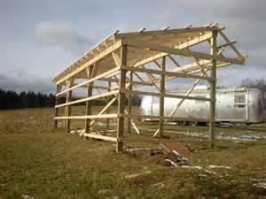 3 Bay Pole Barn Baker S Acres Of Chenango December 2009