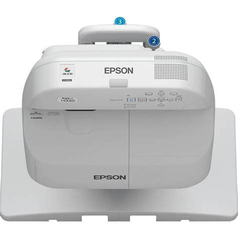 Projector Interactive Epson Eb 1430wi epson brightlink pro 1430wi interactive wxga 3lcd