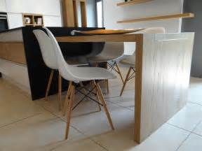 table contemporaine cuisine