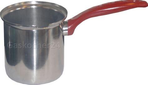 Annahmefrist Angebot Brief Kanne 0 6 L Aus Edelstahl Gut F 220 R Gaskocher Kaffe Mokka Milch Stiel Topf Cezve Ebay