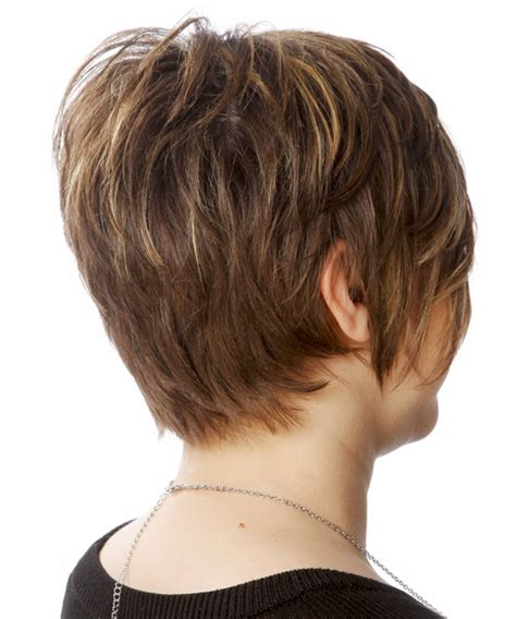 side and back views of shag hairstyle short shag hairstyles back view memes