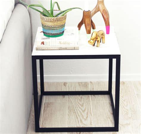Kleiner Beistelltisch Ikea by Diy Tutorial Ikea Beistelltisch Makeover Ikea Hacks