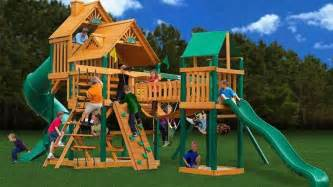 playground swing sets 10 awesome wooden playsets best swing sets for 2018
