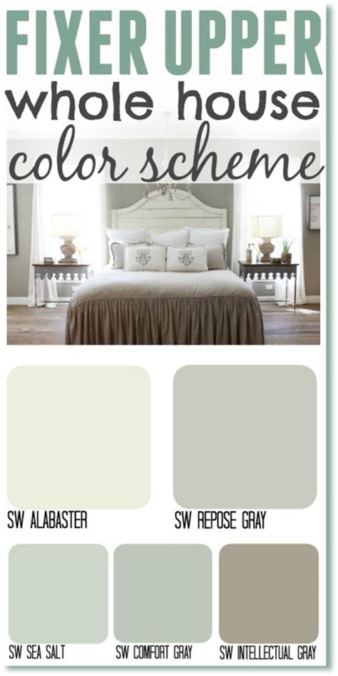 Behr Paint Colors Interior Home Depot Fixer Upper Paint Colors Color Matched The Weathered Fox