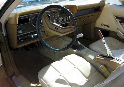 Mustang Ii Interior by Gold 1976 Mach 1 Ford Mustang Ii Hatchback