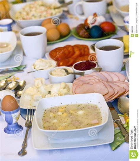cuisine polonaise traditionnelle nourriture polonaise traditionnelle image stock image