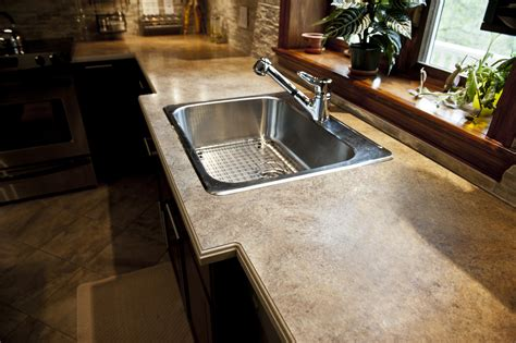 Acrylic Countertops by Acrylic Belted Laminate Countertop Solutions Comptoirs
