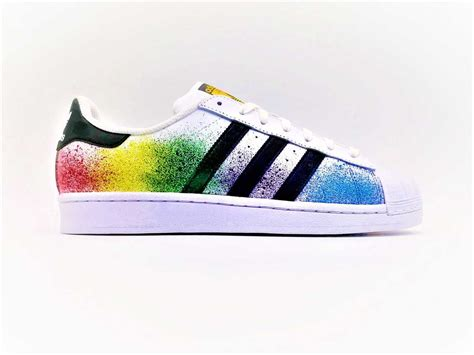 adidas color adidas color splash superstar g customs custom shoes