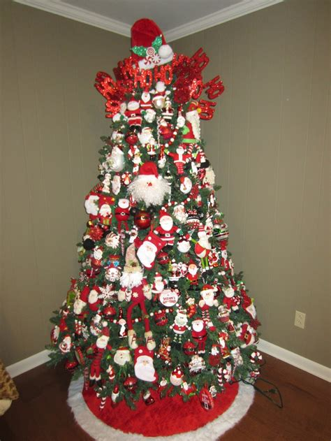 santa christmas tree christmas pinterest