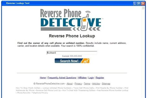 Email Search Tools Telephone Lookup Tool Telephone Lookup Tool