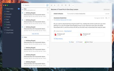 mobile email client spark for mac review a great mobile email client also