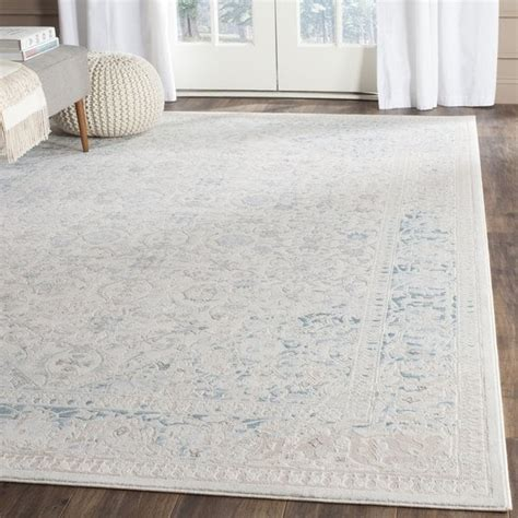 10 By 14 Rugs Turquoise Pattern - shop safavieh watercolor vintage turquoise ivory