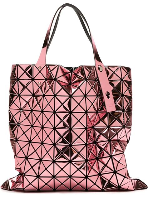 Bao Bao Issey Miyake 282 bao bao issey miyake prism tote in pink lyst