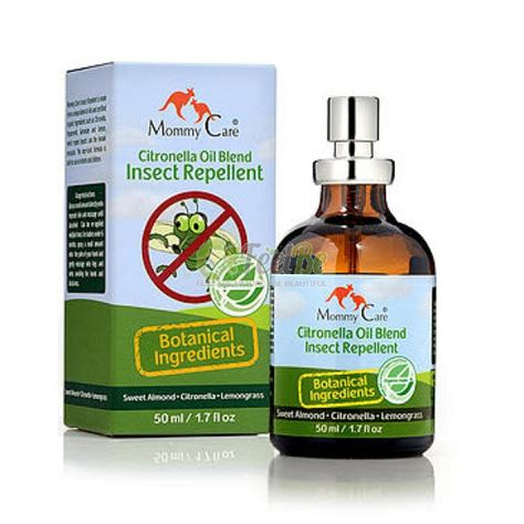 mommy care citronella oil blend insect repellent 50ml