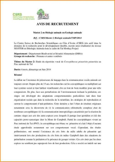Lettre De Motivation Pour Master Banque Et Finance 6 Lettre Motivation Master 2 Curriculum Vitae Etudiant