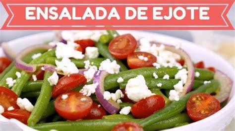 la cocina rpida de 8416449139 ensalada de ejote f 225 cil deliciosa y saludable mi cocina r 225 pida youtube