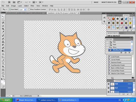 cara membuat watermark di adobe photoshop birunya samudra belajar adobe photoshop part 2