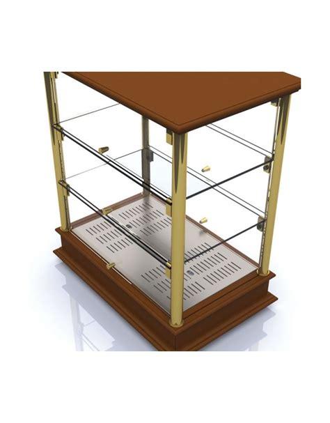 vetrinette da banco vetrinetta riscaldata per colazioni da banco cm 74x35x62