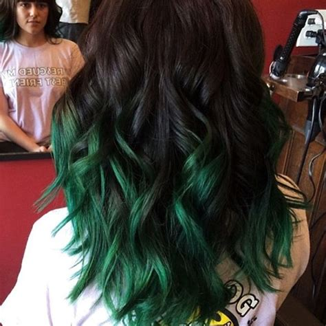 18 Gorgeous Green Colored Hairstyle Ideas 2018   Hairstyle Guru