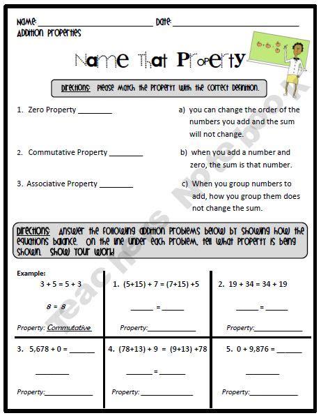 28 Multiplication Properties Worksheets For 4th Grade 1000 Images