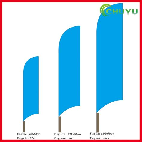 Wholesale Flag Logo Cheap Custom - 2016 wholesale swooper feather flags and banners