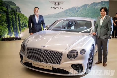 bentley malaysia bentley continental gt unveiled in malaysia rm1 9 mill