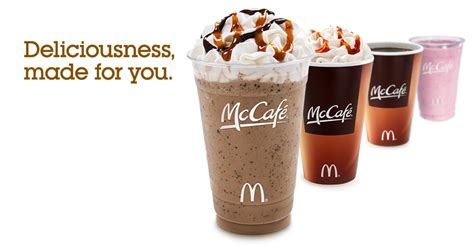 Free McDonalds McCafe Specialty Beverage   Free Stuff Finder Canada