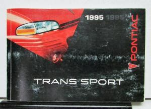 automotive repair manual 1995 pontiac trans sport parking system 1995 pontiac bonneville operator owner manual original