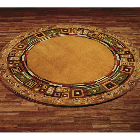 Circle Area Rug The Selection Of Area Rugs Offer A Complete Designed Look Bestartisticinteriors