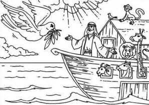 Noah And Wife Coloring Pages Best Photos Of The Ark  sketch template