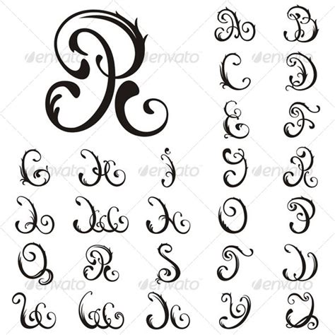 tattoo font outline tattoo font letter numerical fonts pinterest fonts