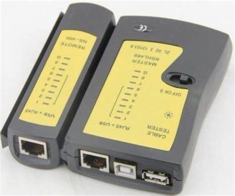 porta rj11 black rj11 rj45 port lan network phone cable tester price