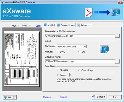 best pdf to dwg converter screenshot review downloads of shareware pdf to dwg