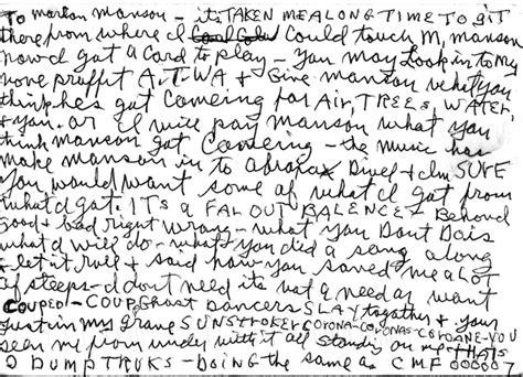 charles illuminati charles writes letter to marilyn