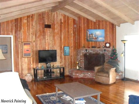 painting wood paneling ideas stained wood paneling painting ideas family room ideas