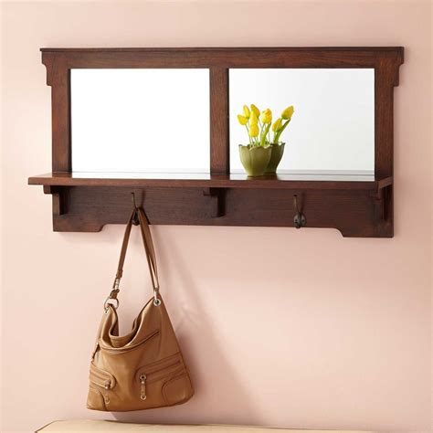 entryway mirror 42 quot mission style oak entryway mirror hardware