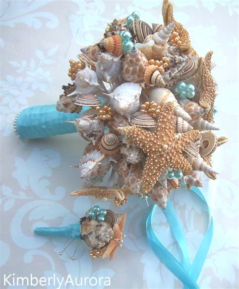 Order Bridal Bouquet by 79 Best Images About Seashell Wedding Bouquet On
