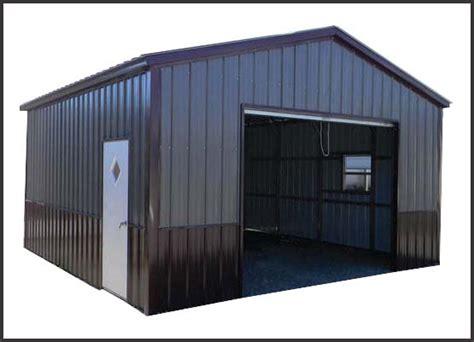 One Car Carport by Metal Building Two Tone Metal Buildings Aluminum Carports