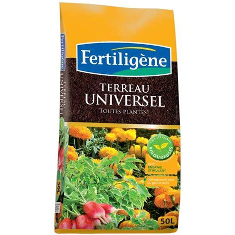 terreau universel 50l fertilig 232 ne plantes et jardins