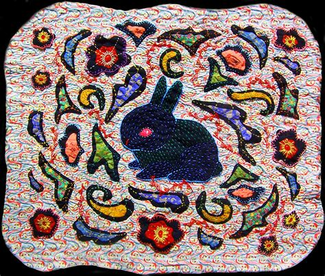 black rabbit quilt is finished 171 andrea zuill s