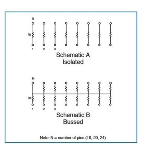 resistor network simplification should you use a resistor network tt electronics