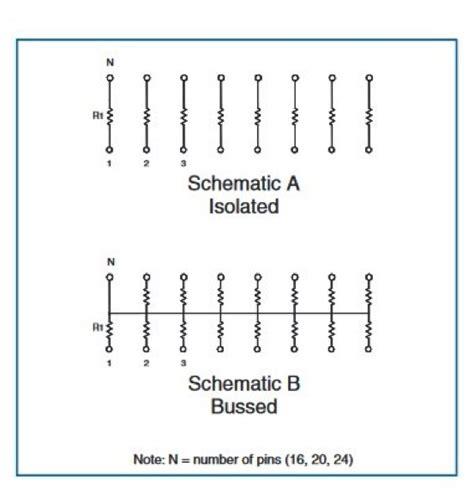 qsop resistor network should you use a resistor network tt electronics