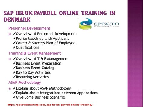 Sap Courses For Mba Hr by Sap Hr Uk Payroll In Uk