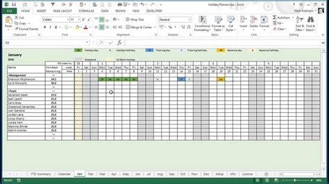 Vacation Planner 2017 Excel Templates For Every Purpose Autos Post Content Calendar Template Excel
