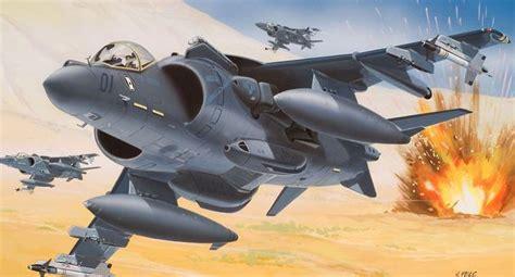 Spion Harrier 1 Pcs 2 av 8b harrier ii plus revell 04038