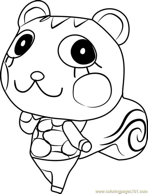 mint leaf coloring page mint animal crossing coloring page free animal crossing