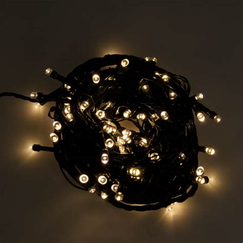 noma battery operated lights noma 8m length of 96 soft white indoor outdoor multi