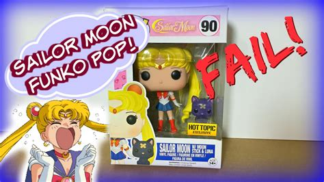 Funko Pop Sailor Moon With Bishoujo Senshi Sailor Moon sailor moon funko pop unboxing fail topic exclusive セーラームーン