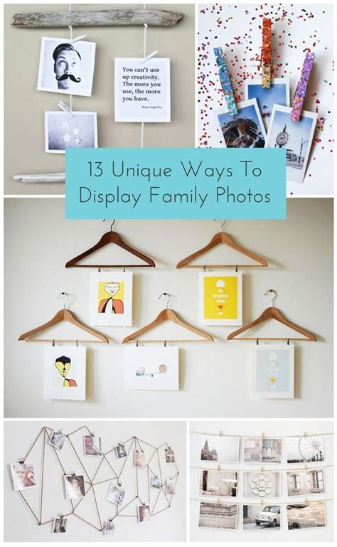 unique ways to hang pictures 17 best images about art supply organization on pinterest
